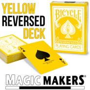 Reversed Back Bicycle Deck - Yellow (Yellow Deck 2nd Generation)