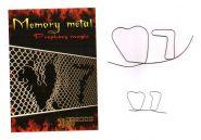 Memory Metal - Память металлической проволоки - игральная карта (на выбор) (размер макси)